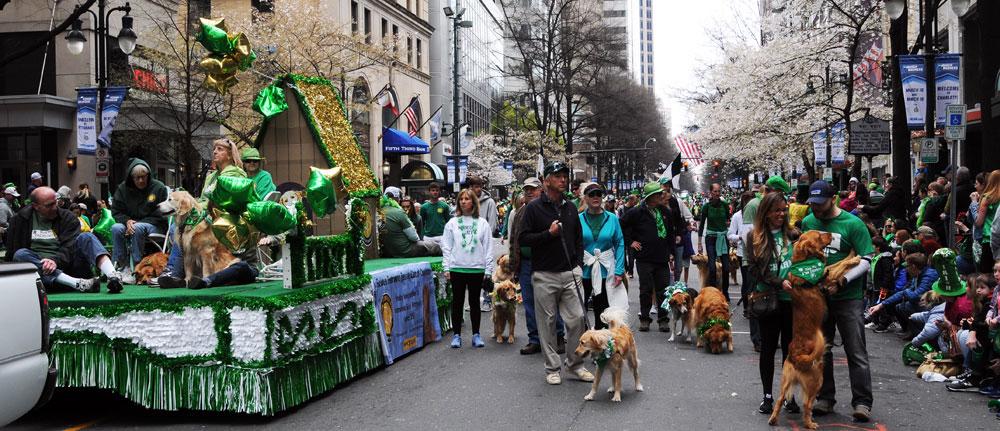 GRRCC St Patrick's Day parade