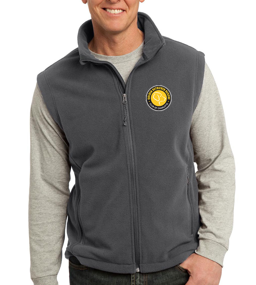 port-authority-fleece-vest-iron-gray