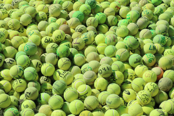 2018 Tennis Ball Raffle – Results