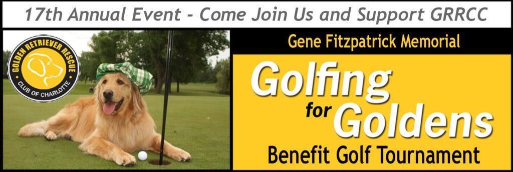 GRRCC Golfing for Goldens 2019 header