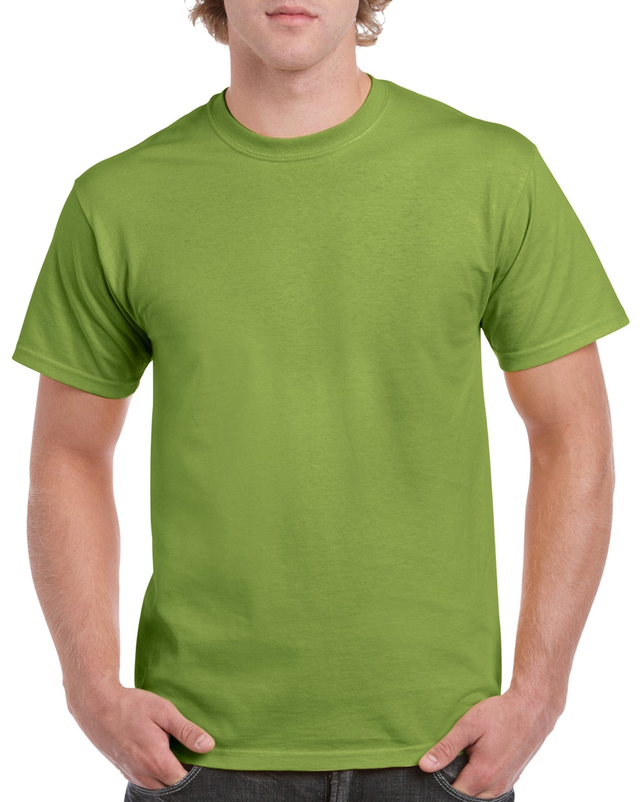 Gildan Heavy Cotton Tee Kiwi Front